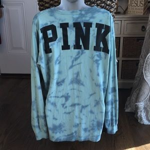 VS PINK Tie Dye Top